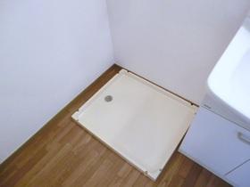 室内洗濯機置き場・脱衣所あります。