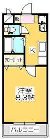 1K 25.84平米 4.0万円 香川県丸亀市郡家町