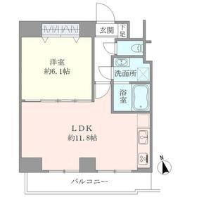 ライジングプレイス大森二番館 602号室