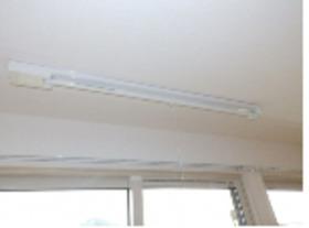 室内物干しは雨の日に便利です。