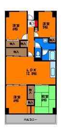 広々79平米の4LDKのお部屋です☆