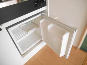 ミニ冷蔵庫付です!