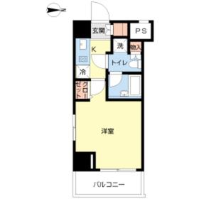 スカイコート板橋弐番館2階Fの間取り画像