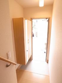 ゆとりのある玄関スペース☆