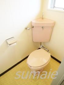 清潔なトイレですよ♪