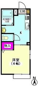 エスポアール雪谷 206号室