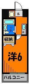 室内洗濯機置場完備の1Kマンション!!