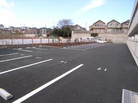 広々した駐車場ですよ!