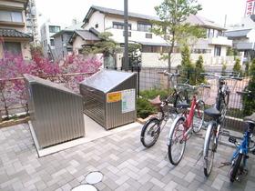 敷地内に自転車置場、ゴミ置場は必要ですね