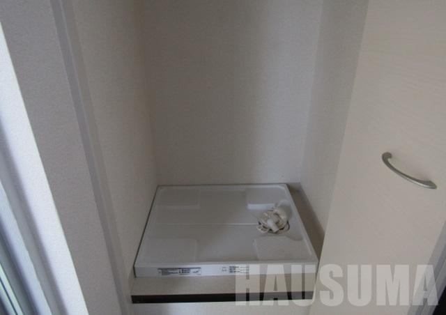 洗濯機置き場は隠せます!