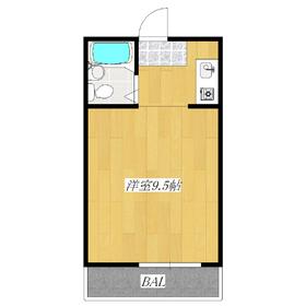 広い居室!スペースたっぷり!