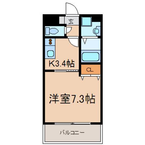 洋7.3帖 K3.4帖