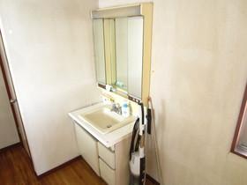 共同スペースにある洗面台!