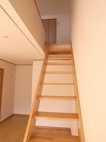 階段で2階に☆