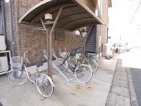 ☆屋根付き自転車置場☆