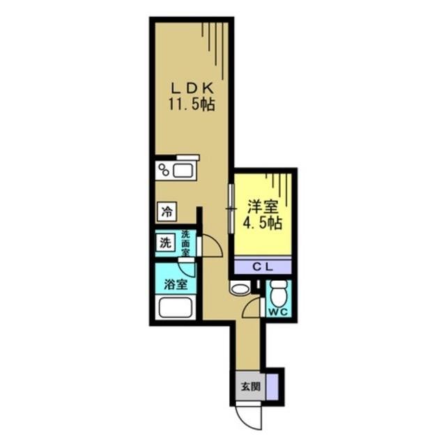 LDK11.5帖 洋室4.5帖