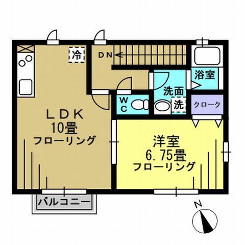 洋6.75帖 LDK10帖