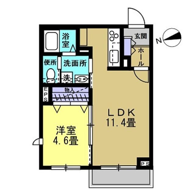LDK11.4帖・洋室4.6帖