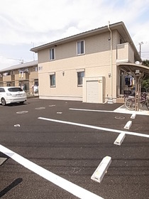 ゆとりある駐車スペース☆