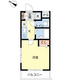 スカイコート文京大塚2階Fの間取り画像