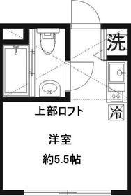 KS-Y1階Fの間取り画像