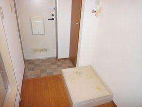 防水パンが付いてますので、水漏れも安心です!