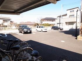 駐車場は平置き。ワゴン車もOKですよ