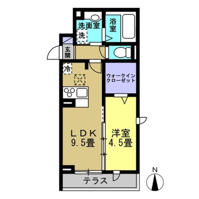 LDK9.5帖・洋室4.5帖