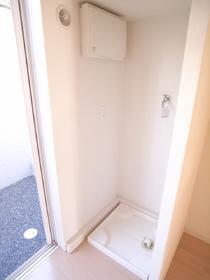 もちろん洗濯機は室内置き☆