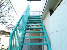 階段綺麗な色です♪