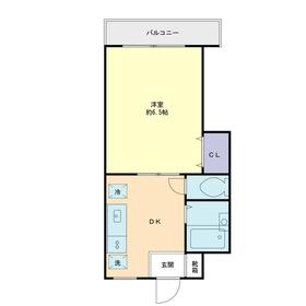 エクセレンスアキヤマ3階Fの間取り画像