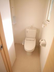 清潔感のあるトイレ♪