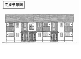1LDK 45.86平米 4.9万円 愛媛県喜多郡 内子町内子1559