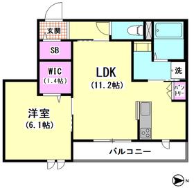 パークサイドメゾン 302号室