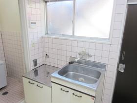 キッチンは窓付きでガスコンロ2口設置可です☆