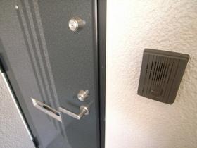2ロックシステムの防犯用玄関鍵♪