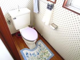 共同のトイレ!綺麗です!