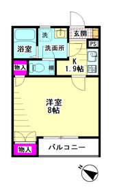 シエール羽田参番館 202号室