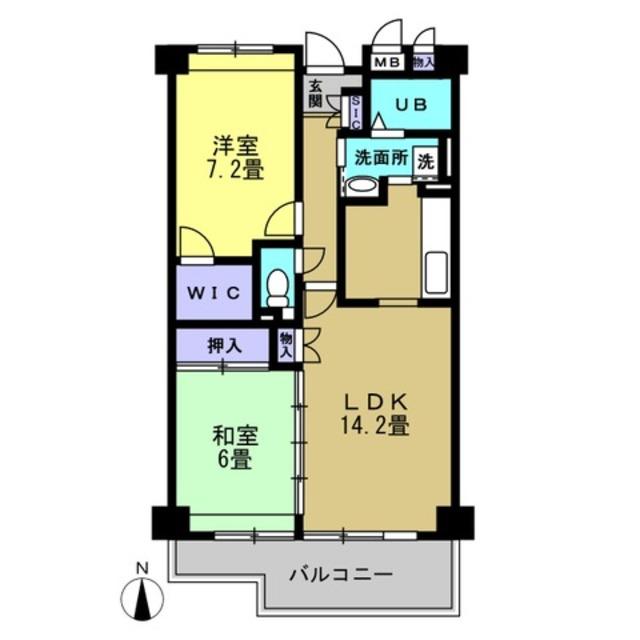 LDK14.2 和室6 洋室7.2