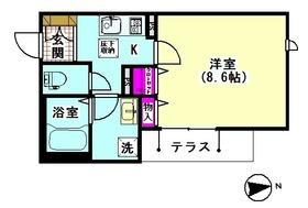 クレストコート ミライ 101号室