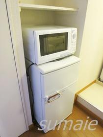 冷蔵庫 電子レンジ完備☆