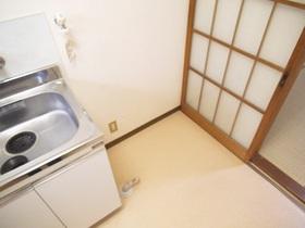 こちらが洗濯機置場です!