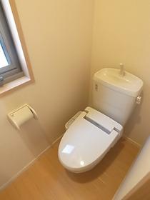 なんとトイレが2つ!