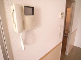 安心のTVドアホン完備で防犯面もバッチリ