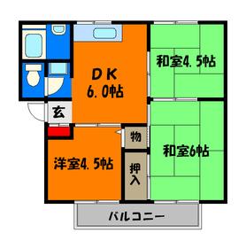 6帖和室は洋室へ変更予定!
