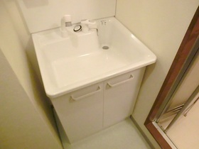 独立洗面台です(^^♪