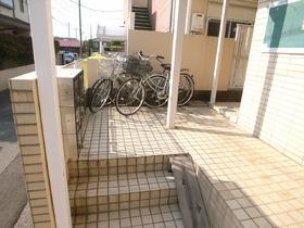 自転車はこちらへ♪