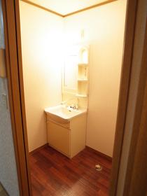 家族で使える洗面スペース