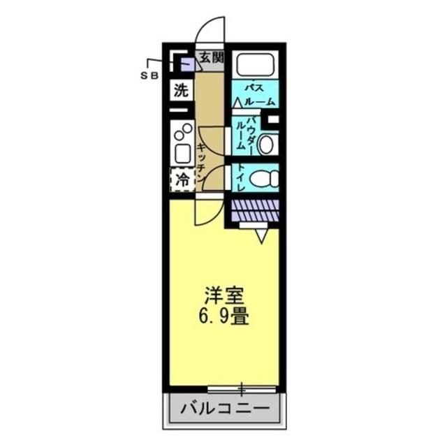 K/洋室6.9帖