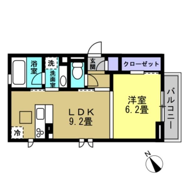 LDK9.2帖・洋室6.2帖